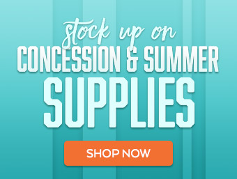 Stock Up on Summer Concession Supplies