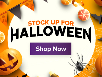Stock Up For Halloween