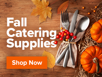 Fall Catering Supplies