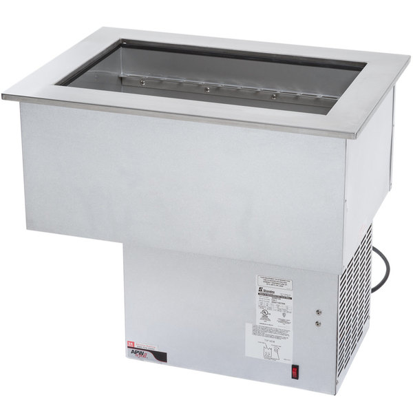 APW Wyott CW-1 1 Pan Drop In Refrigerated Cold Food Well 120V