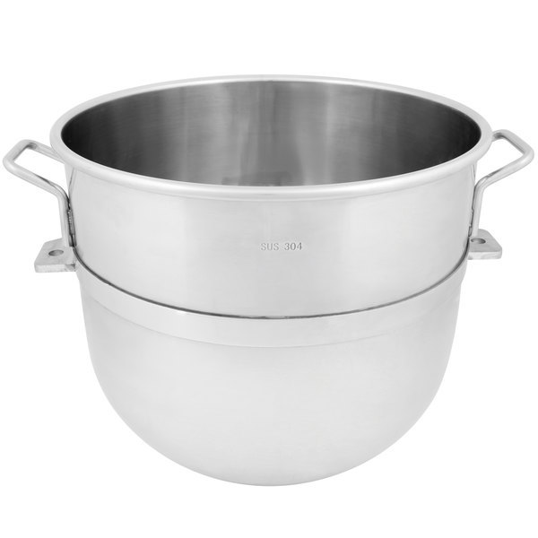Avantco MX60BOWL 60 Qt. 304 Stainless Steel Mixing Bowl Scratch and Dent