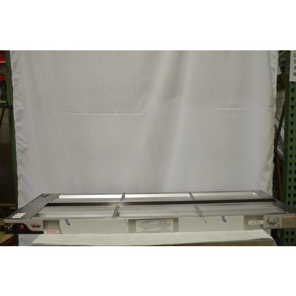 "APW Wyott FDD-48L-T 48"" Calrod Double Food Warmer with Toggle Controls - 120V, 1600W"