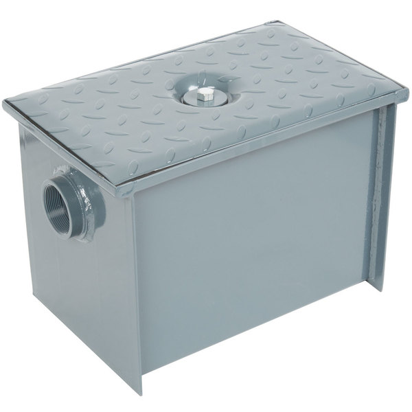 Watts WD-4-THD 8 lb. Grease Trap with Threaded Connections