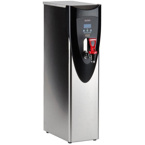 Bunn 43600.0002 H5X Element SST Stainless Steel Finish 5 Gallon 212 Degree Hot Water Dispenser - 208V