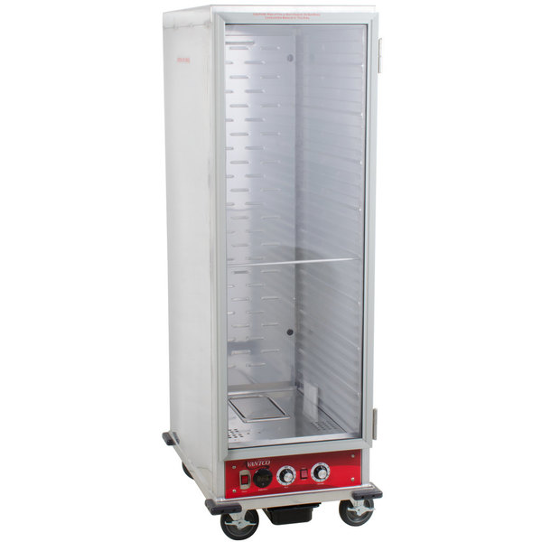 Avantco HPI-1836 Full Size Insulated Heated Holding / Proofing Cabinet with Clear Door - 120V