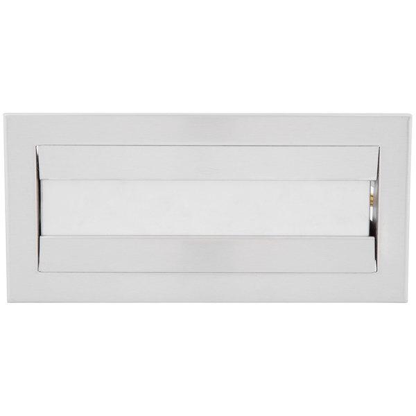 Bobrick B-526 TrimLine Countertop C-Fold / Multi-Fold Paper Towel Dispenser