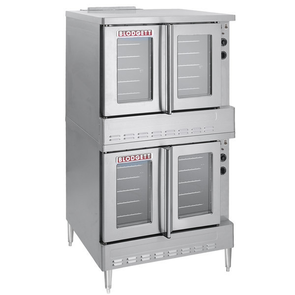Blodgett SHO-100-E Double Deck Full Size Electric Convection Oven - 220/240V, 1 Phase, 22 kW Scratch and Dent