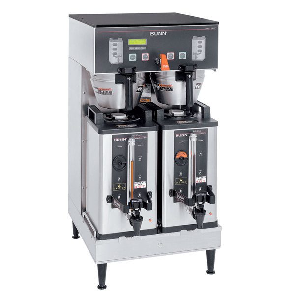 Bunn 33500.0042 BrewWISE Dual Soft Heat DBC Brewer with Lower Faucet - 120/240V, 6800W Scratch and Dent
