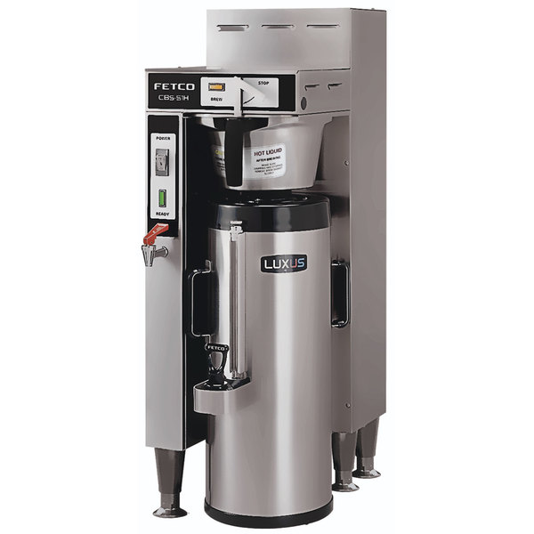 Fetco CBS-51H-15 C51056 Stainless Steel Single Automatic Coffee Brewer - 120/208-240V