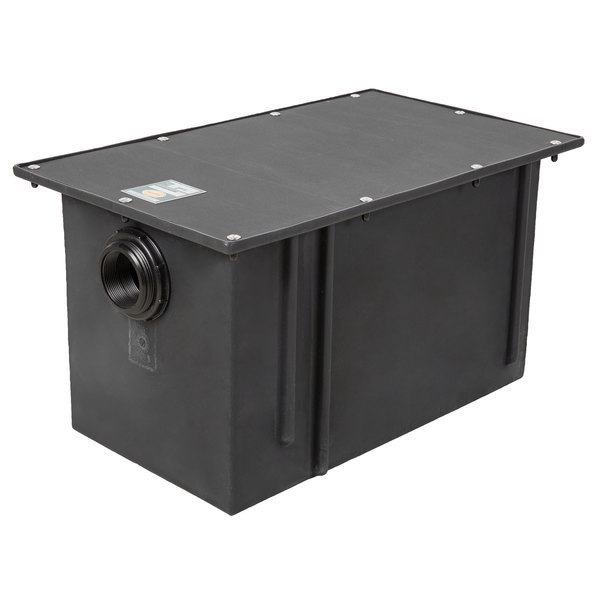 Ashland PolyTrap 4825 50 lb. Grease Trap with Threaded Connections Scratch and Dent