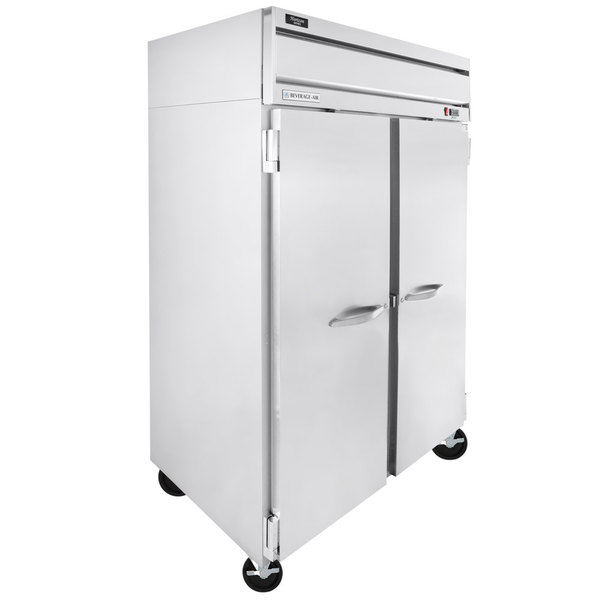 """Scratch and Dent Beverage-Air HR2-1S Horizon Series 52"""" Top Mounted Solid Door Reach-In Refrigerator Main Image 1"""