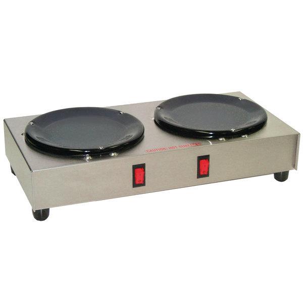 Grindmaster BW-2 Double Burner Decanter Warmer Station - 120V