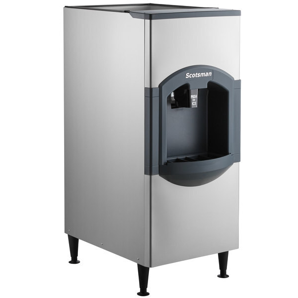 """Scratch and Dent Scotsman HD22B-1 iceValet 22"""" Wide Hotel Ice Dispenser 120 lb. Capacity - 120V Main Image 1"""