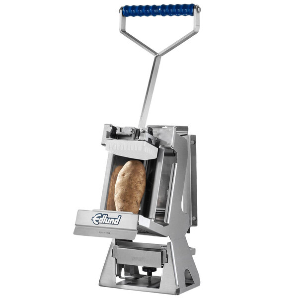 """Scratch and Dent Edlund FDWW-38S Titan Max-Cut Manual 3/8"""" Slicer with Wall Mount Base Main Image 1"""