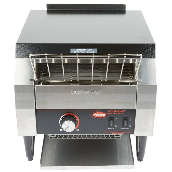 "Scratch and Dent Hatco TQ-10 Toast Qwik Conveyor Toaster - 2"" Opening, 208V Main Image 1"