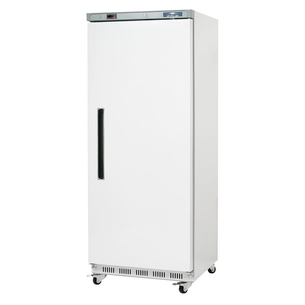 Scratch and Dent Arctic Air AWF25 White Single Door Reach In Freezer - 25 cu. ft. Main Image 1