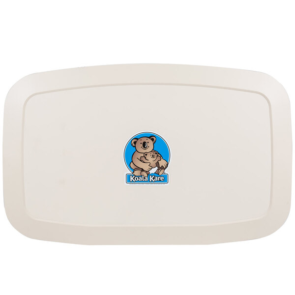 Scratch and Dent Koala Kare KB200-00 Horizontal Baby Changing Station / Table - Cream Main Image 1
