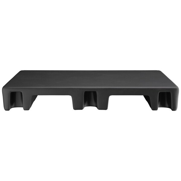 "Scratch and Dent Regency 42"" x 30"" x 6"" Black Plastic Display Base / Spot Merchandiser - 2000 lb. Capacity Main Image 1"