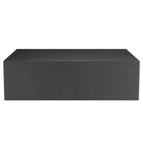 "Scratch and Dent Regency 21"" x 16"" x 6"" Black Plastic End Cap / Spot Merchandiser - 1000 lb. Capacity Main Image 1"