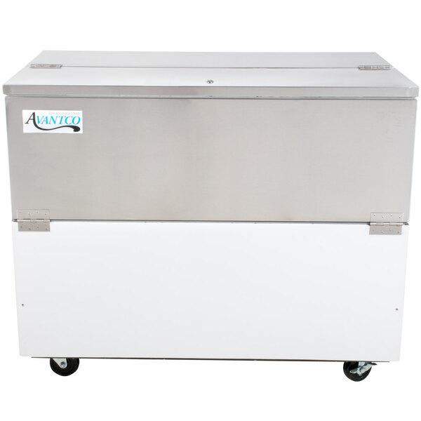 "Scratch and Dent Avantco MC49-HC 49"" School Milk Cooler Main Image 1"