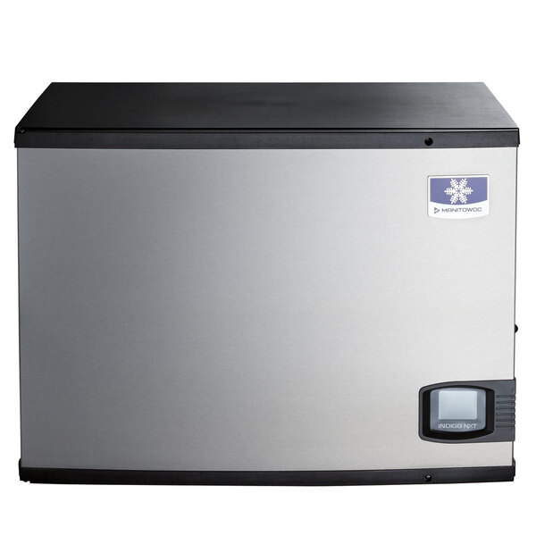 """Scratch and Dent Manitowoc IYF-0600A Indigo NXT Series 30"""" Air Cooled Half Size Cube Ice Machine - 208-230V, 1 Phase, 650 lb. Main Image 1"""
