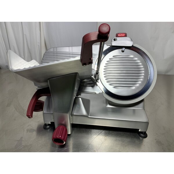 Scratch And Dent Berkel 827a Plus 12 Manual Gravity Feed Meat Slicer 1 2 Hp