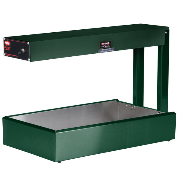 """Scratch and Dent Hatco GRFF Glo-Ray Green 12 3/4"""" x 24"""" Portable Food Warmer - 120V, 500W Main Image 1"""