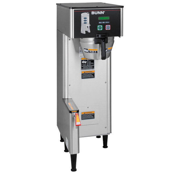 Scratch and Dent Bunn 34800.0017 BrewWISE Single ThermoFresh DBC Brewer with Funnel Lock - 120V, 2200W Main Image 1