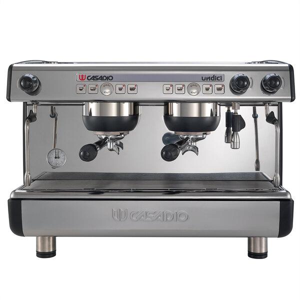 Scratch and Dent Cimbali Casadio Undici A/2 (2) Group Espresso Machine - 120V Main Image 1