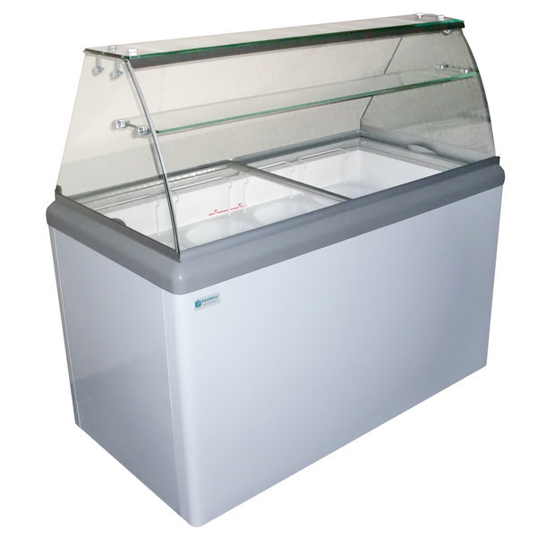 Scratch and Dent Excellence HBD-8HC Ice Cream Dipping Cabinet - 13.8 cu. ft. Main Image 1