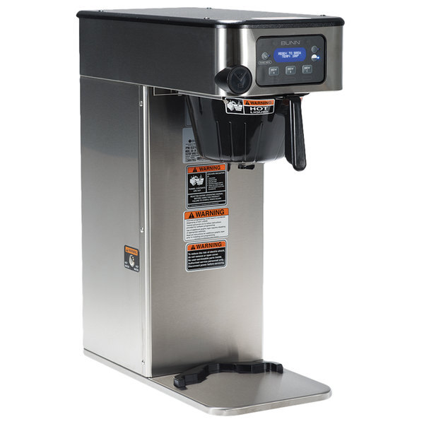 Scratch and Dent Bunn 51100.0100 ICB Infusion Series Stainless Steel Single Automatic Coffee Brewer - 120/240V Main Image 1