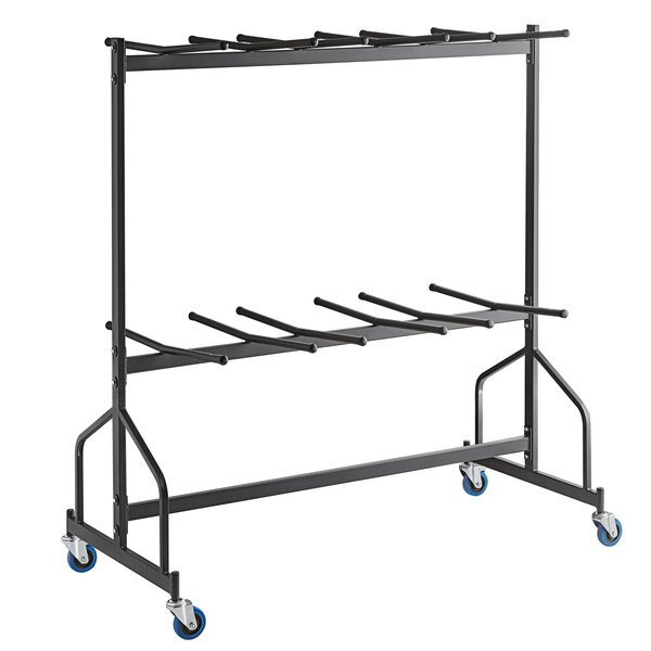 Scratch and Dent Lancaster Table & Seating Folding Chair Dolly--84 Chair Capacity Main Image 1
