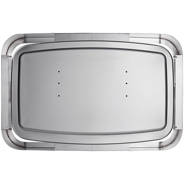 """Scratch and Dent Koala Kare KB310-SSWM 41 3/16"""" x 26 3/8"""" Horizontal Surface Mount Stainless Steel Baby Changing Station / Table Main Image 1"""