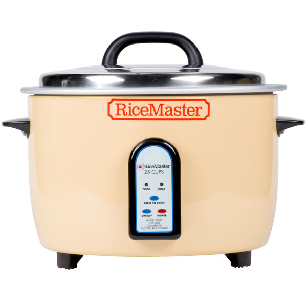 Scratch and Dent Town 56822 50 Cup (25 Cup Raw) Electric Rice Cooker / Warmer - 120V, 1700W Main Image 1