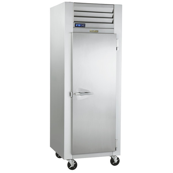 """Scratch and Dent Traulsen G12010 30"""" G Series Solid Door Reach in Freezer with Right Hinged Door Main Image 1"""