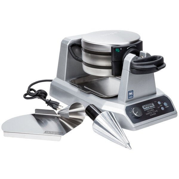 Scratch and Dent Waring WWCM200 Double Waffle Cone Maker - 120V Main Image 1