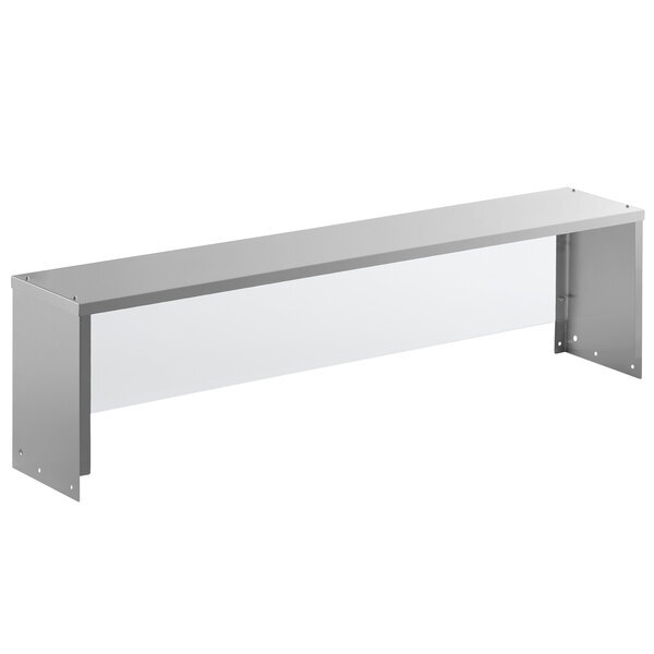 """Scratch and Dent Avantco STE-4SG 57"""" Overshelf with Sneeze Guard for Select Avantco Units Main Image 1"""