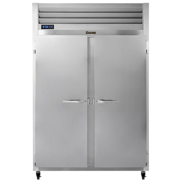 """Scratch and Dent Traulsen G20010 52"""" G Series Solid Door Reach-In Refrigerator with Left / Right Hinged Doors Main Image 1"""