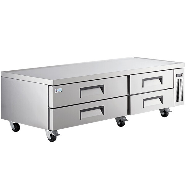 """Scratch and Dent Avantco CBE-84-HC 84"""" 4 Drawer Refrigerated Chef Base Main Image 1"""