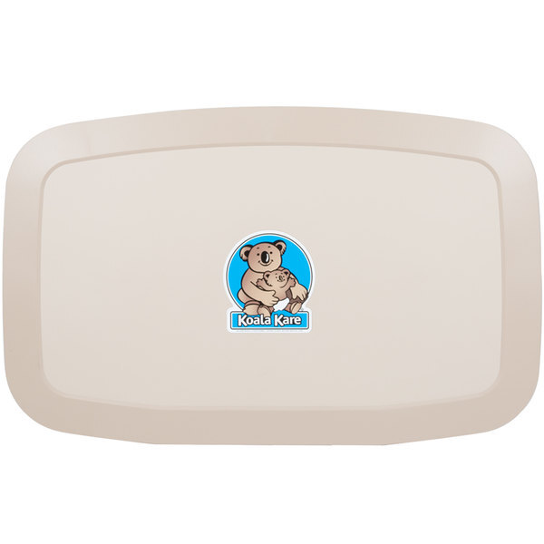Scratch and Dent Koala Kare KB200-11 Horizontal Baby Changing Station / Table - Earth Main Image 1