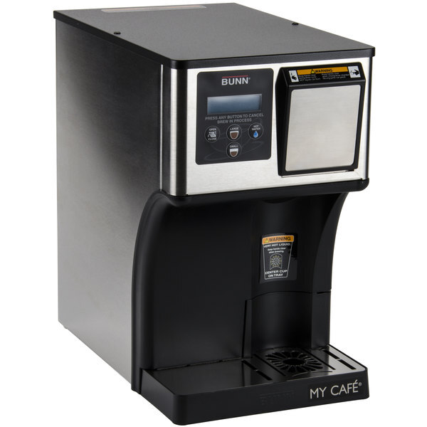 Scratch and Dent Bunn 42300.0000 AP My Cafe AutoPOD Automatic Commercial Pod Brewer with Auto Eject Pod Disposal Main Image 1