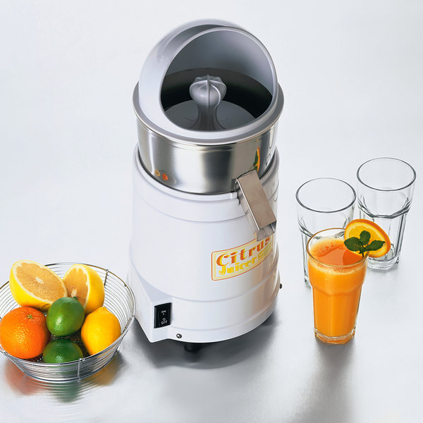 Scratch and Dent Waring JC4000 Heavy-Duty 1800 RPM Citrus Juicer Main Image 1