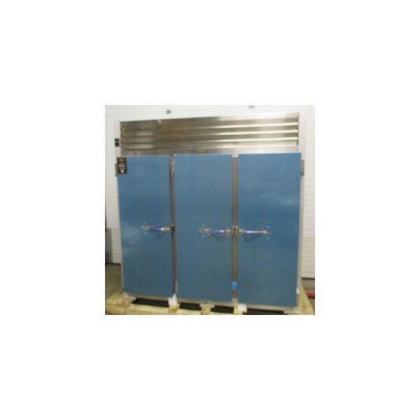 """Traulsen G31011 77"""" G Series Three Section Solid Door Reach-In Freezer with Left / Left / Right Hinged Doors - 69 cu. ft."""