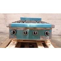 Garland GTOG24-4 Natural Gas 4 Burner 24 inch Countertop Range - 120,000 BTU