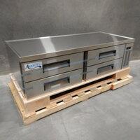 Avantco CBE-72 72 inch 4 Drawer Refrigerated Chef Base