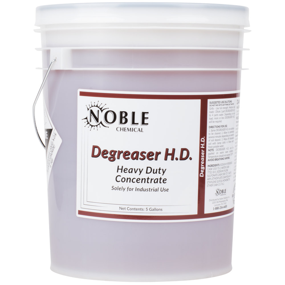 Chemical 5 Gallon / 640 oz. Heavy Duty Degreaser