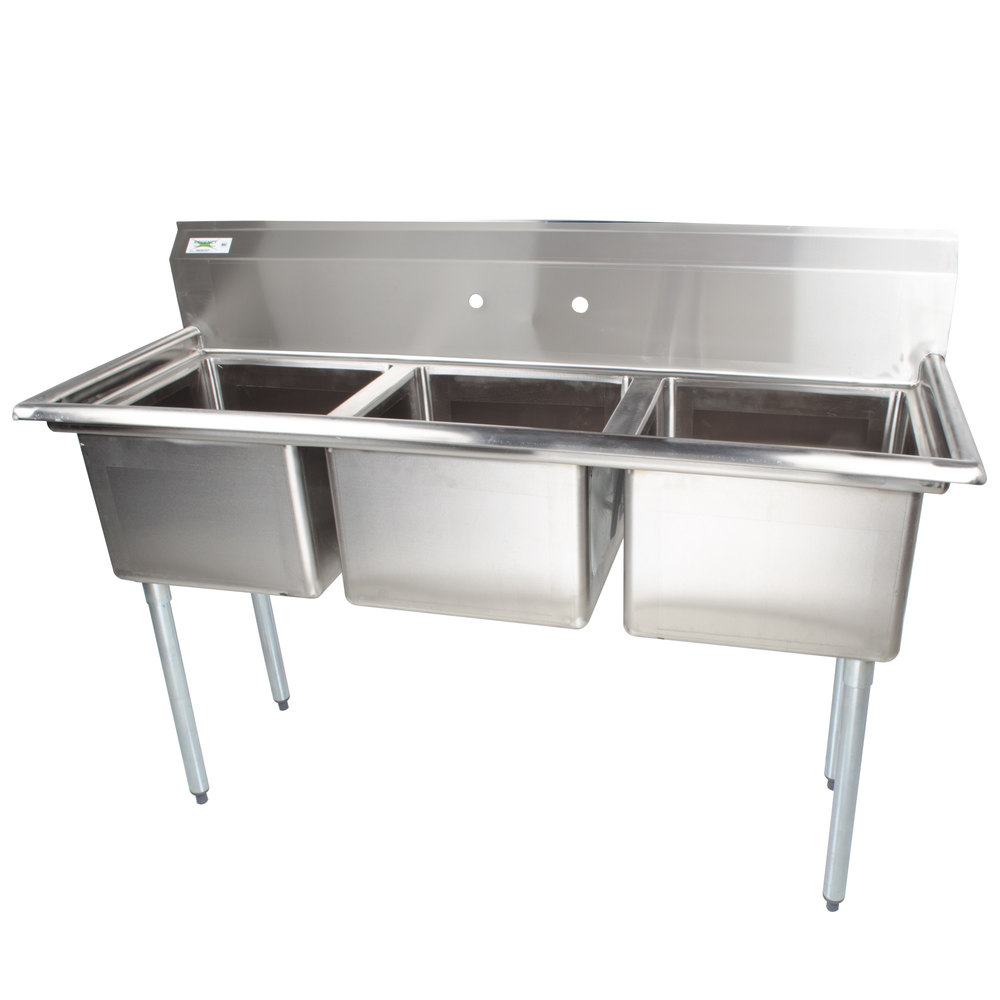 Commercial Sinks Australia : ... Commercial Sink without Drainboards - 17