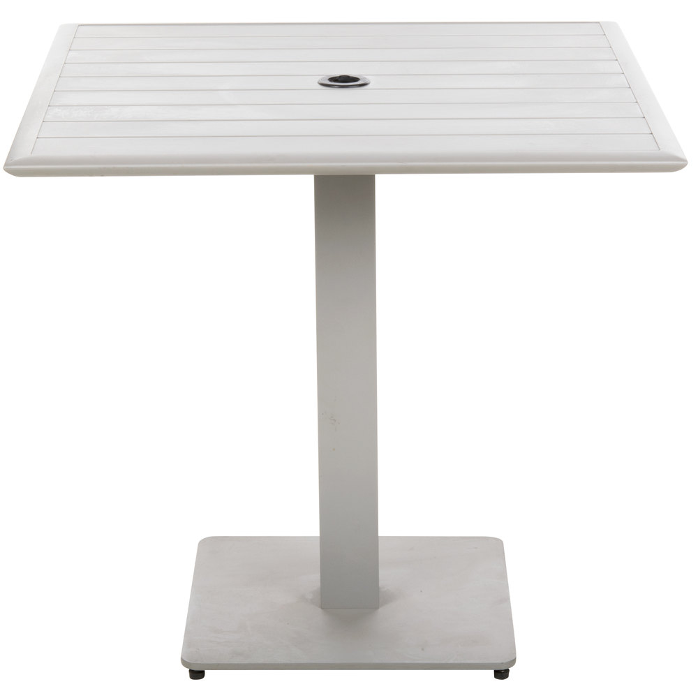 BFM Seating DVS3232TSU South Beach 32 Inch X 32 Inch Outdoor / Indoor  Square Tabletop And ...