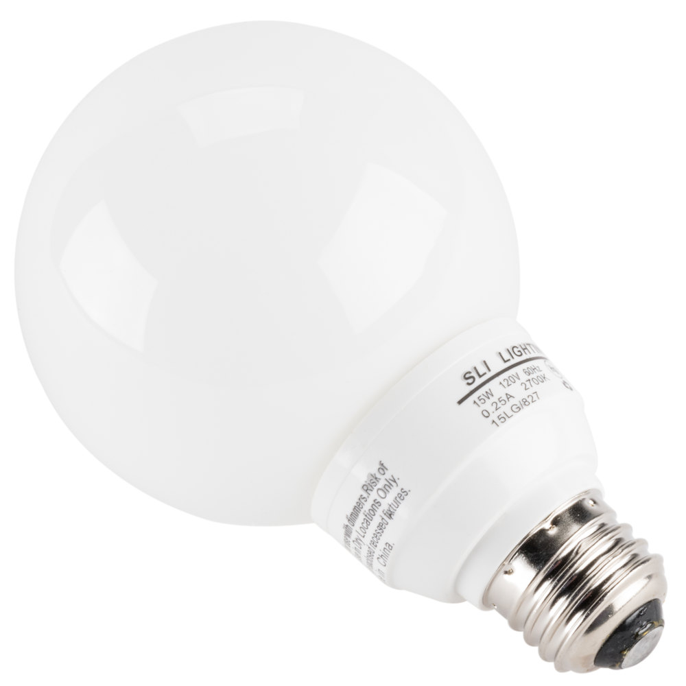 ... Fluorescent Globe Light Bulb - 120V. Main Picture; Image Preview ...