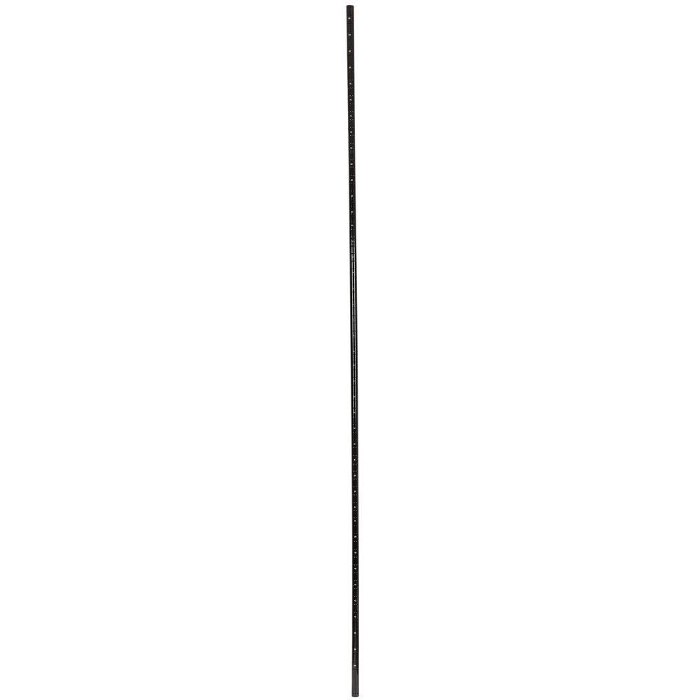 Regency 86 inch NSF Black Epoxy Post